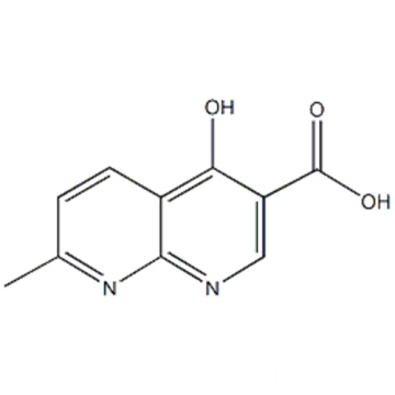 4-hydroxy-7-methyl-1,8-naphthyridine-3-carboxylic acid CAS 13250-97-0